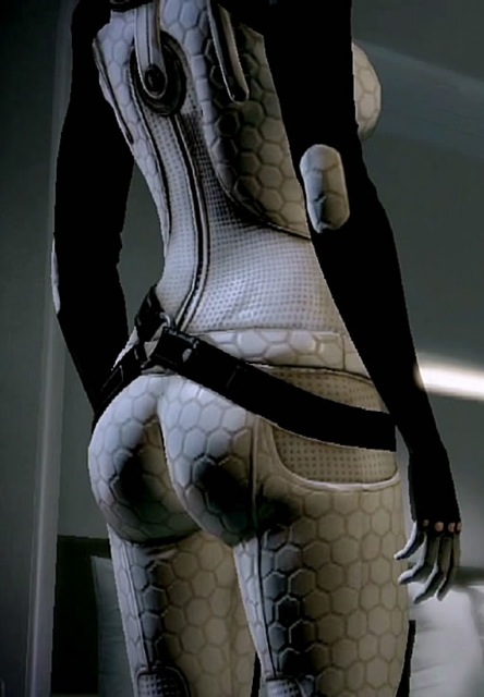 Mass Effect 2:  Miranda Shows Off Some Of Her Curves