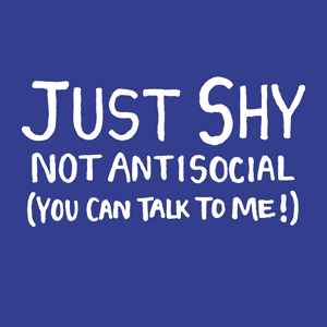 Just Shy, Not Antisocial